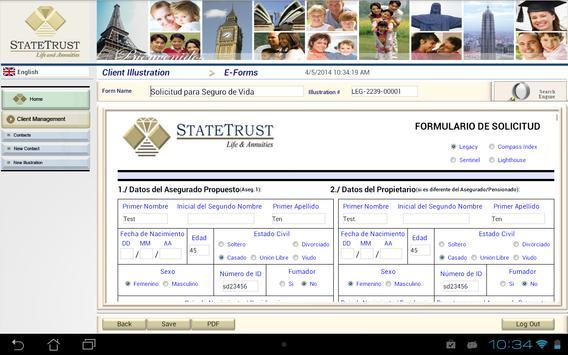 Virtual Office Statetrust Life apk screenshot