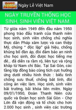 Ngày Lễ Việt Nam apk screenshot
