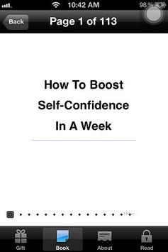 How To Boost Self Confidence! poster