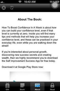 How To Boost Self Confidence! apk screenshot