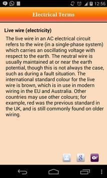 Electrical Terms apk screenshot