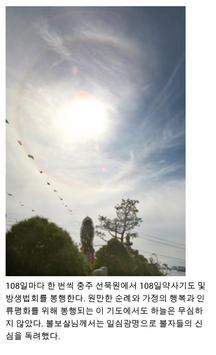 선묵 혜자스님과 마음으로 찾아가는 108산사순례기도회 apk screenshot