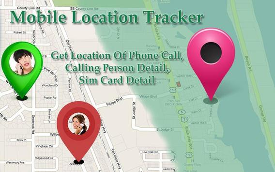 Mobile Location Tracker poster