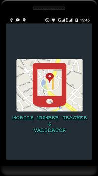 Mobile No Tracker & Validator poster