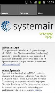 Systemair ADP apk screenshot