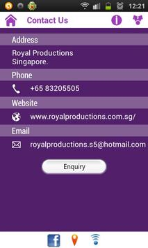 Royal Productions apk screenshot