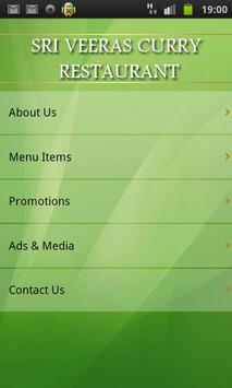 Sri Veeras Curry Restaurant apk screenshot