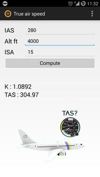 PANS OPS Calculator apk screenshot