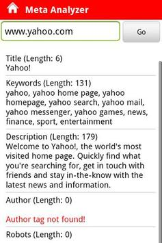 Pocket SEO apk screenshot