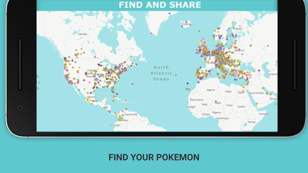 MapS for Pokemon Go poster