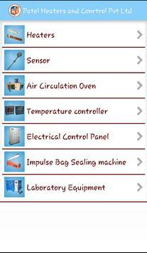 Patel Heaters and Control apk screenshot