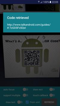 QR Code Reader apk screenshot