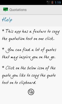 Quotations apk screenshot