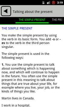 English Grammar apk screenshot