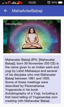 Mahavatar Babaji apk screenshot