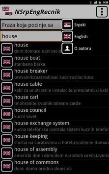NSrpEng Recnik apk screenshot