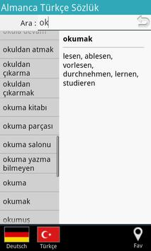 Almanca Türkçe Sözlük apk screenshot