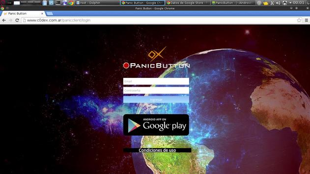 PanicButton - c0dex apk screenshot