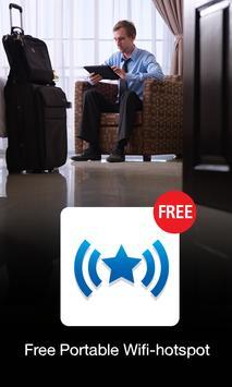 Free Portable Wifi-hotspot poster