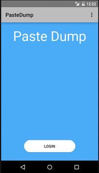 Paste Dump poster