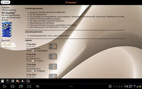 PCI HD apk screenshot