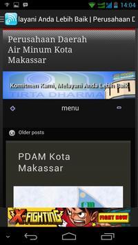 PDAM Makassar apk screenshot