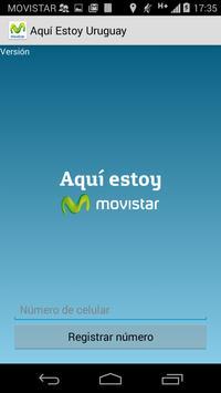 Espejo Aquí Estoy Uruguay poster