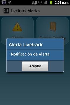Livetrack Alertas apk screenshot