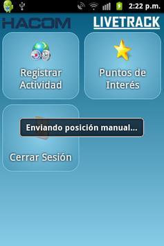 Livetrack Client apk screenshot