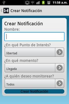 Livetrack Manager apk screenshot