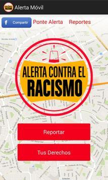Alerta contra el Racismo poster