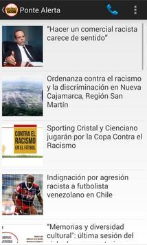 Alerta contra el Racismo apk screenshot