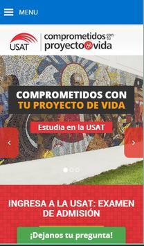 USAT Admisión poster