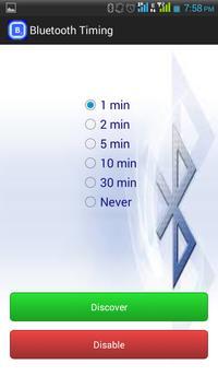 Bluetooth Timing apk screenshot