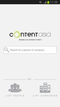 ContentAsia poster