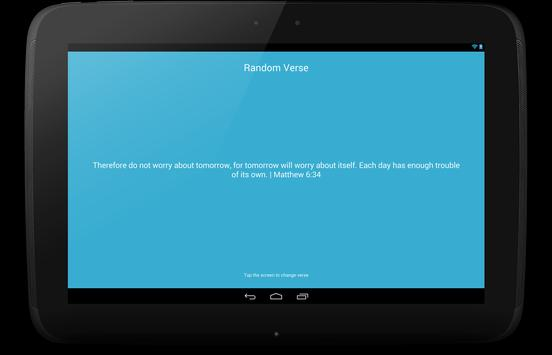 Random Bible Verses apk screenshot