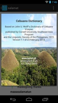 Cebuano-English Dictionary poster