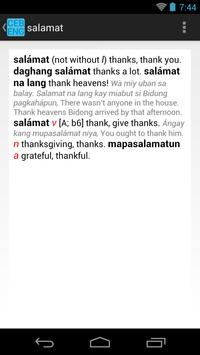 Cebuano-English Dictionary apk screenshot