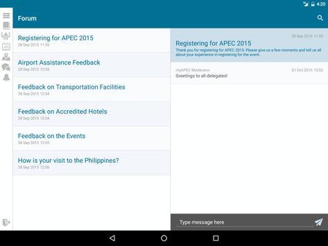 myAPEC apk screenshot