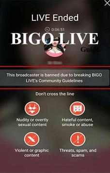 Guide BIGO LIVE Broadcast poster