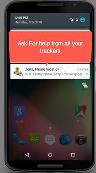 Find my phone (No internet) apk screenshot