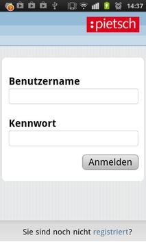 Pietsch Online System poster