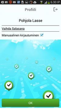 LokiTime Työntekijä apk screenshot