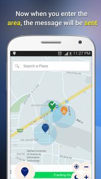 Place SMS apk screenshot
