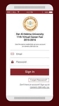 DAH University Career Fair apk screenshot