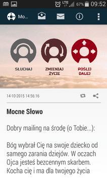 Mocne Słowo - Mocne Inspiracje apk screenshot