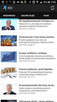 Europejski Kongres Gospodarczy poster