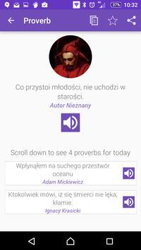 Polish Proverbs poster