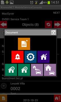 KronosNET Service Console apk screenshot