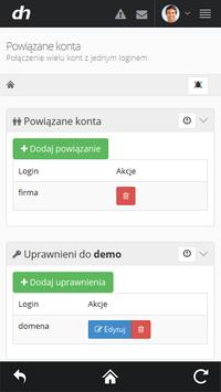 dhosting.pl apk screenshot